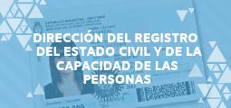 DIRECCIÓN DEL REGISTRO DEL ESTADO CIVIL Y DE LA CAPACIDAD DE LAS PERSONAS